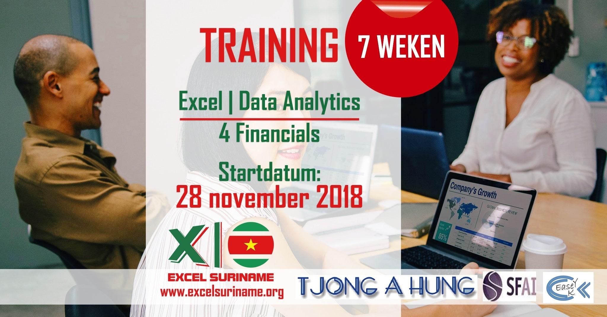 Excel Suriname Data Analytics FinancialFinal