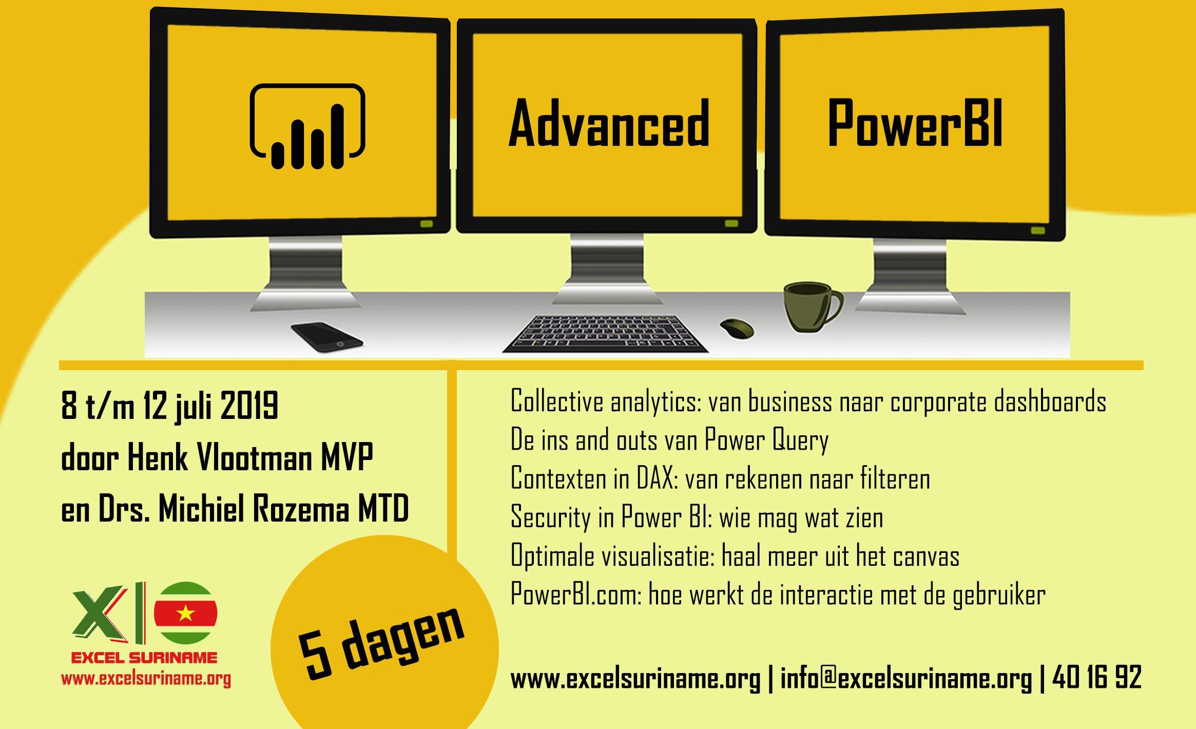 Advanced Power BI 2